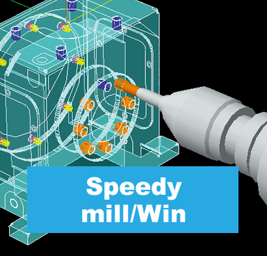 2D CAD/CAM Speedy mill/Win